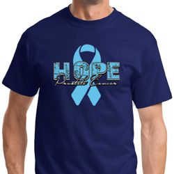 Hope Prostate Cancer Mens Shirts