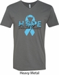 Hope Prostate Cancer Mens V-Neck Shirt