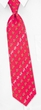 Horses Red Silk Tie Necktie Men's Animal Print Win Place Show Neck Tie