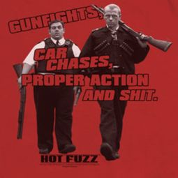 Hot Fuzz Days Work Shirts