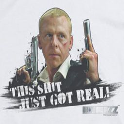 Hot Fuzz Got Real Shirts