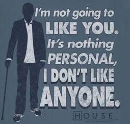 House I Don't Like Anyone Shirts