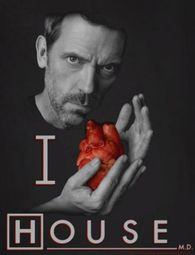 House I heart House Shirts
