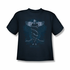 House Shirt Kids Humanity Is Overated Navy T-Shirt