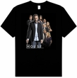 House T-shirt TV Show House Crew Adult Black Tee