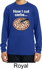 How I Cut Carbs Kids Dry Wicking Long Sleeve Shirt