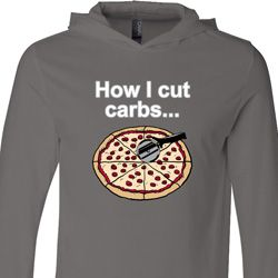 How I Cut Carbs Lightweight Hoodie Tee