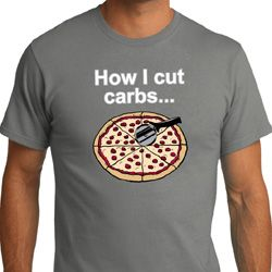 How I Cut Carbs Mens Organic Shirt