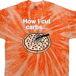 How I Cut Carbs Twist Tie Dye Shirt