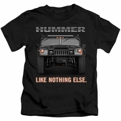 Hummer Kids Shirt Like Nothing Else Black T-Shirt