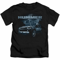 Hummer Kids Shirt Stormy Ride Black T-Shirt