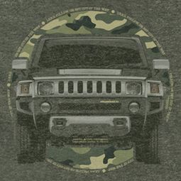 Hummer Lead Or Follow 2 Shirts