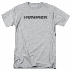 Hummer Shirt Distressed Logo Athletic Heather T-Shirt
