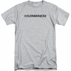 Hummer Shirt Distressed Logo Athletic Heather Tall T-Shirt
