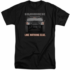 Hummer Shirt Like Nothing Else Black Tall T-Shirt