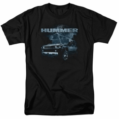 Hummer Shirt Stormy Ride Black T-Shirt