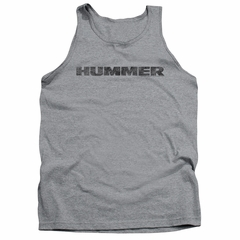 Hummer Tank Top Distressed Logo Athletic Heather Tanktop