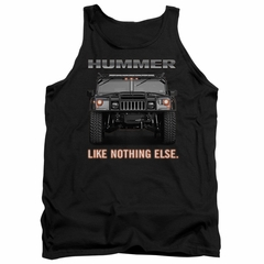 Hummer Tank Top Like Nothing Else Black Tanktop
