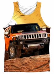 Hummer Tank Top Sunset Ride Sublimation Tanktop