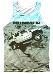 Hummer Tank Top Trek Sublimation Tanktop Front/Back Print