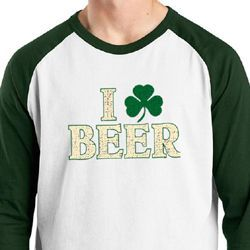I Love Beer Mens Shirts