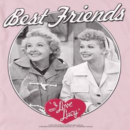 I Love Lucy Best Friends Shirts
