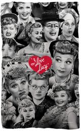 I Love Lucy Blankets