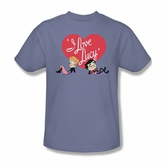 I Love Lucy Content Shirt Adult Tee T-Shirt