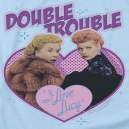 I Love Lucy Double Trouble Shirts
