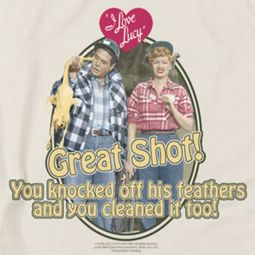 I Love Lucy Great Shot Shirts