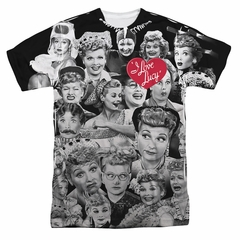 I Love Lucy Lucy/Faces Sublimation Shirt