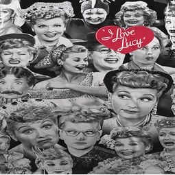 I Love Lucy Lucy/Faces Sublimation Shirts