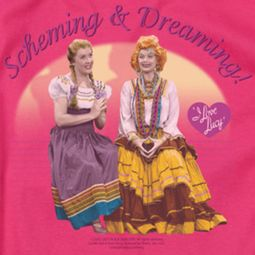 I Love Lucy Scheming & Dreaming Shirts