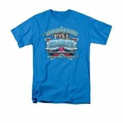 I Love Lucy Shirt California Here We Come Adult Turquoise Tee T-Shirt