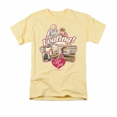I Love Lucy Shirt Just Loafing Adult Banana Tee T-Shirt