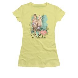 I Love Lucy Shirt Paris Dress Juniors Banana Tee T-Shirt
