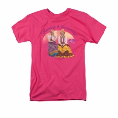 I Love Lucy Shirt Scheming & Dreaming Adult Hot Pink Tee T-Shirt