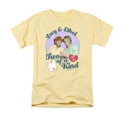 I Love Lucy Shirt Two Of A Kind Adult Banana Tee T-Shirt
