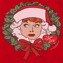 I Love Lucy Wreath Shirts