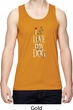 I Love My Dog Mens Moisture Wicking Tanktop