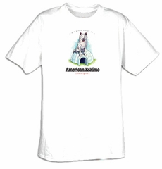I'm a Proud Owner of an American Eskimo - The Original Dog Tee Shirt