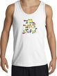 I'm With Stupid Tank Top - Funny Two Ways Adult White Tanktop