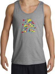 I'm With Stupid Tank Tops - Funny Two Ways Adult Tanktops