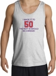 I MADE IT TO 50 Funny Fifty 50th Birthday Present Shirt Tank Top - Ash
