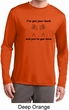 I've Got Your Back Mens Dry Wicking Long Sleeve Shirt