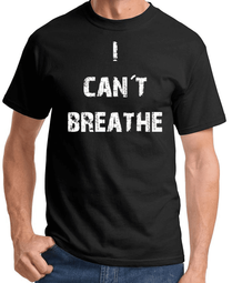 I Can't Breathe T-shirt - Black