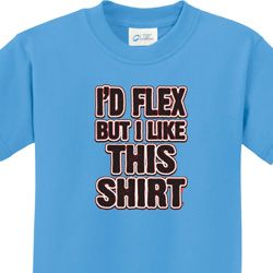 Id Flex Kids Fitness Shirts
