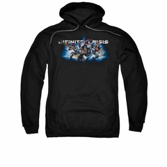 Infinite Crisis Hoodie Wonder Woman Black Sweatshirt Hoody