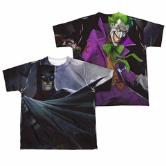 Infinite Crisis Shirt Batman VS Joker Sublimation Youth Shirt