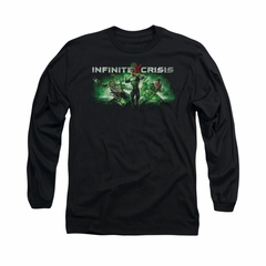 Infinite Crisis Shirt Green Lantern Long Sleeve Black Tee T-Shirt